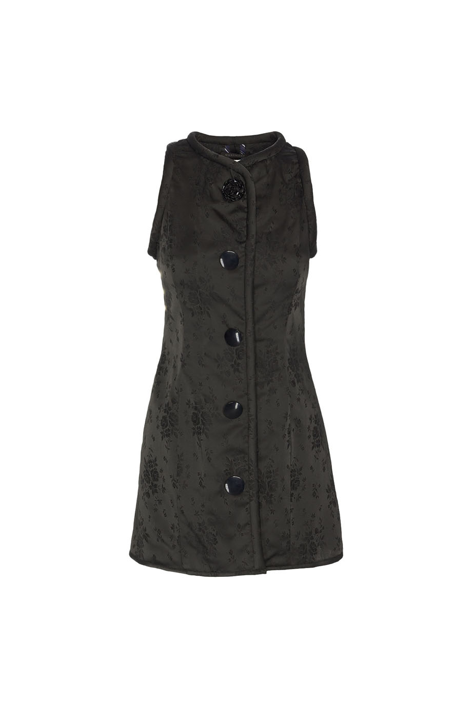 01. BLACK DAMASK TOP / DRESS
